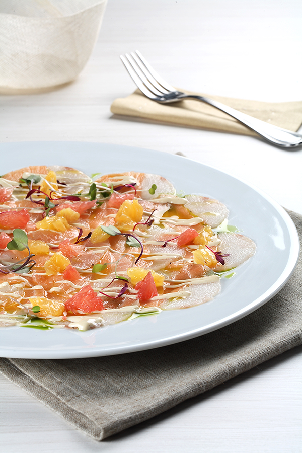 Carpaccio de mar