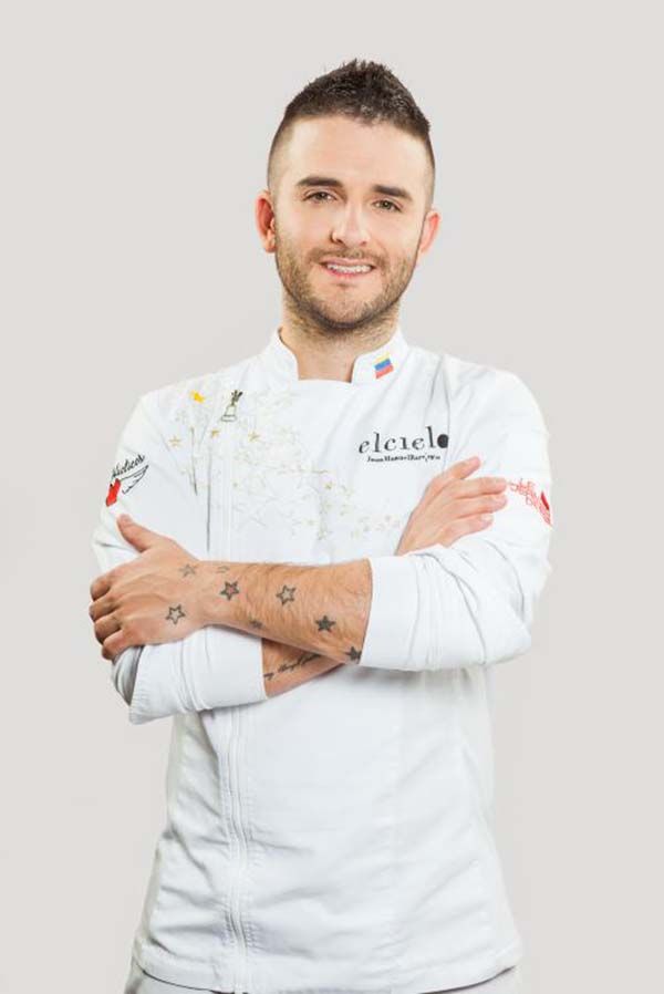 Chef Juan Manuel Barrientos