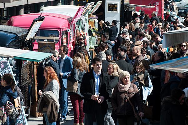 Vuelve la Expo Food Trucks a Nuevos Ministerios