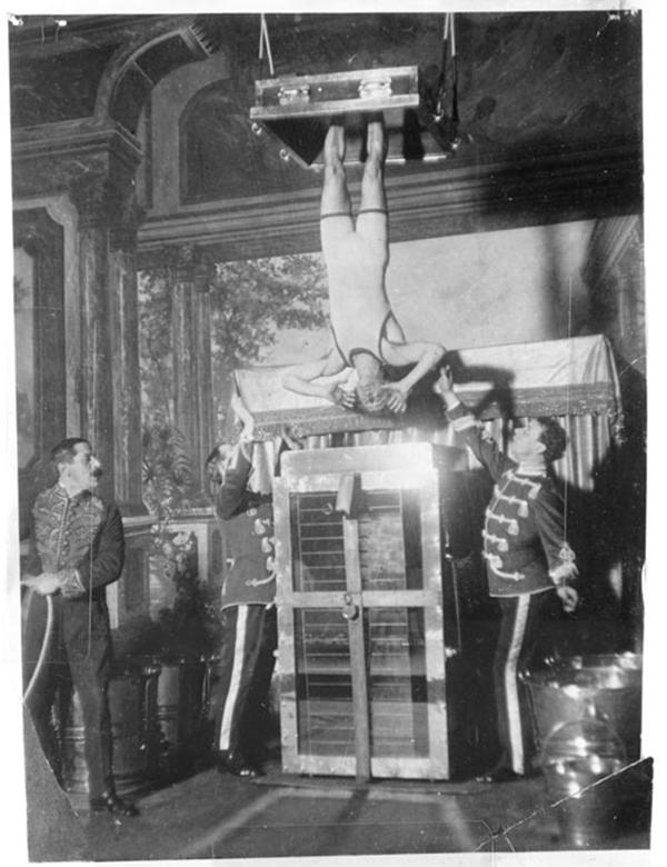 Houdini. Las leyes del asombro se estrena en la Fundación Telefónica