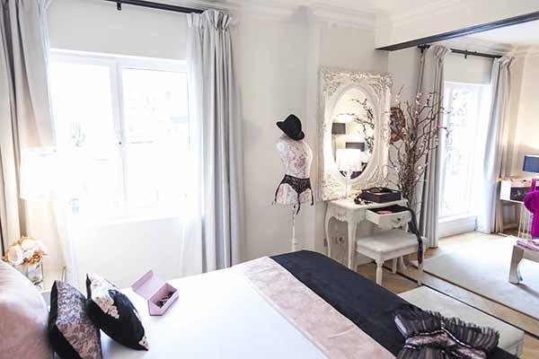 Maya Hansen diseña una suite boutique en Dear Hotel