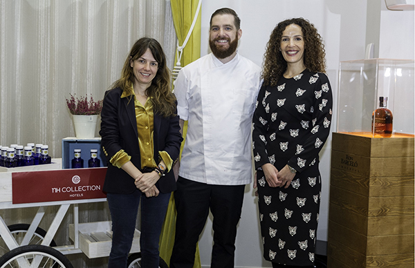 NH Collection Abascal celebra cuatro cenas solidarias