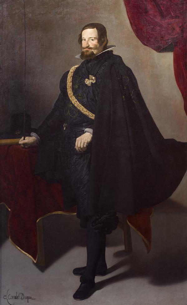 Gaspar de Guzmán, Conde-Duque de Olivares Velázquez Óleo sobre lienzo 222 cm x 137,8 cm h. 1625-26 Nueva York, The Hispanic Society of America
