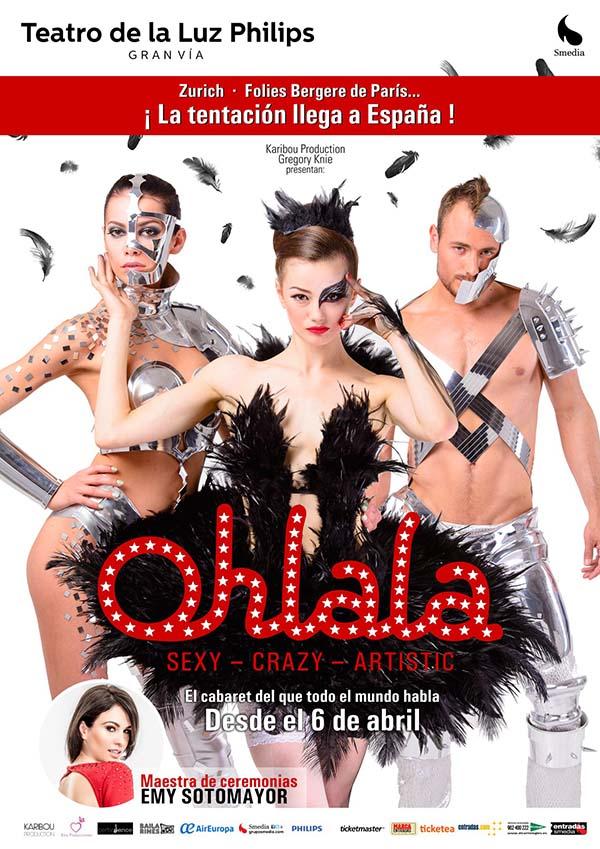 Ganadores del sorteo para ver el cabaret Ohlala