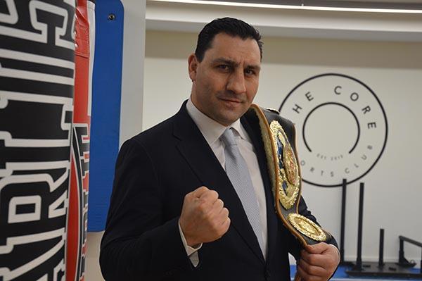 Alejandro Lakatus. Campeón de España, de Europa WBO y campeón del Mundo Latinoamericano.
