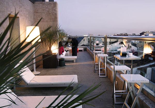 Estimula tus sentidos con la terraza del Hotel Urban