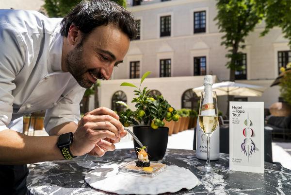 Ruta de la tapa en los hoteles de lujo de Madrid con Hotel Tapa Tour
