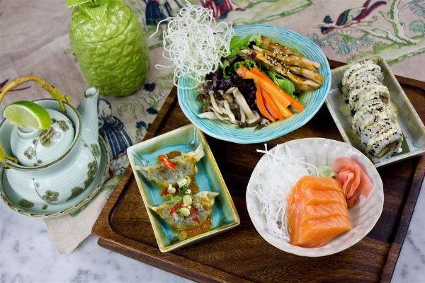 Sushita platos de verano hsm