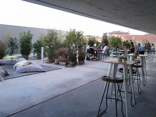 Forus-Barceló terraza