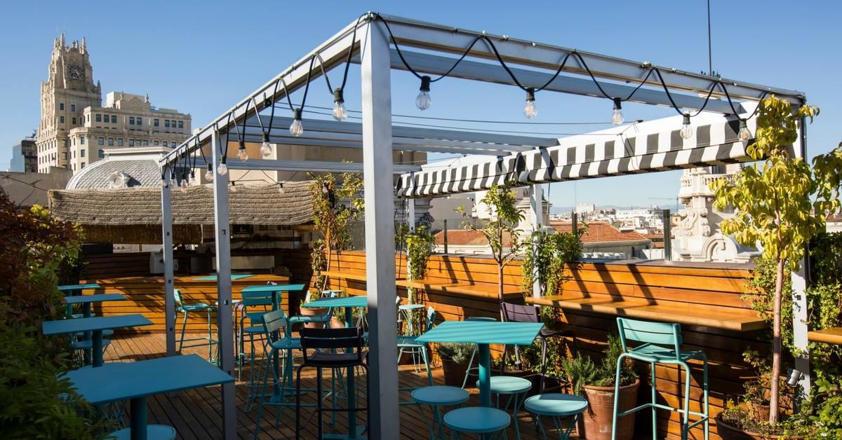 Las mejores terrazas de Madrid: Ático 11