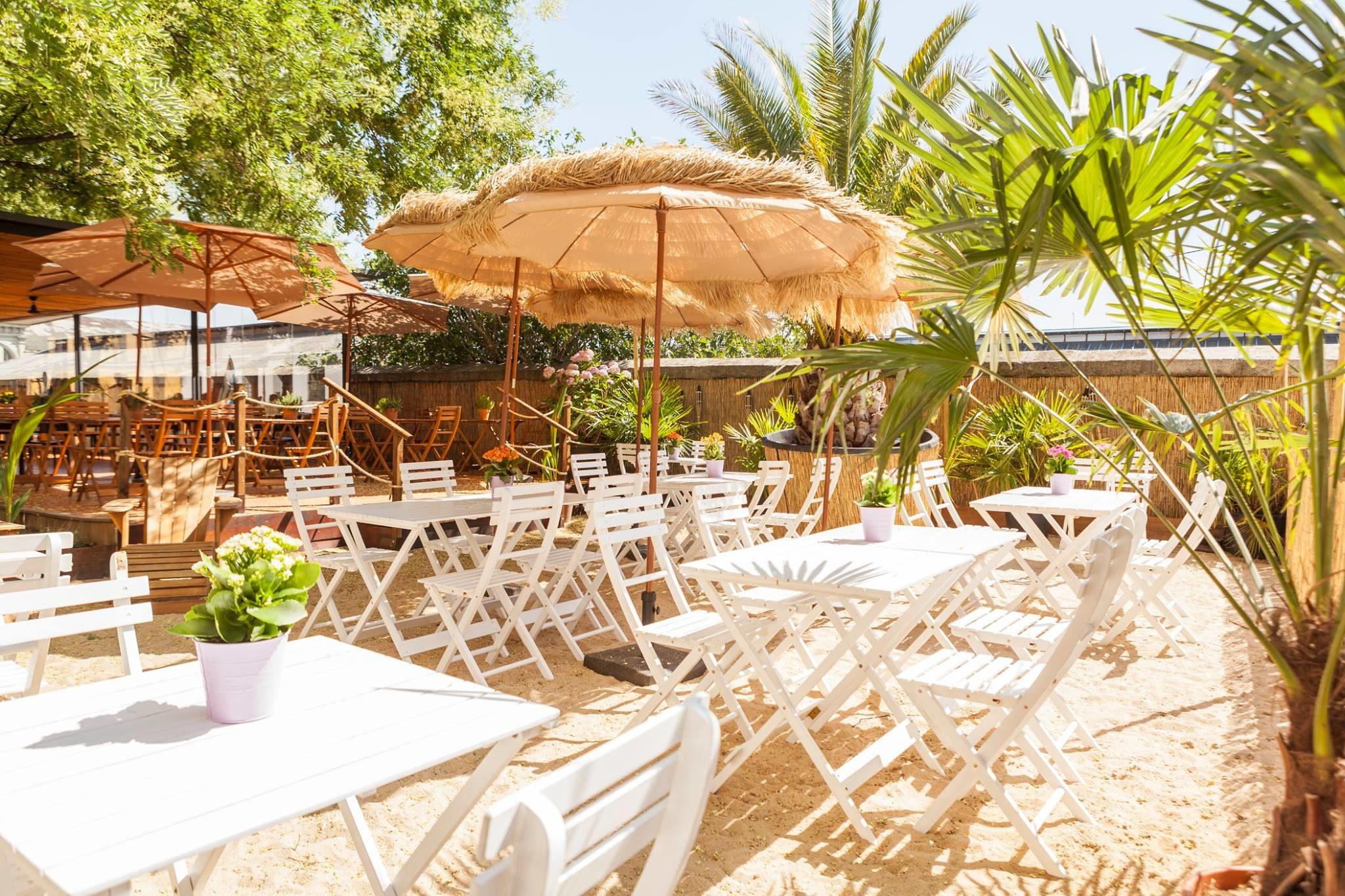 Las mejores terrazas de Madrid: Café del rey Beach Club