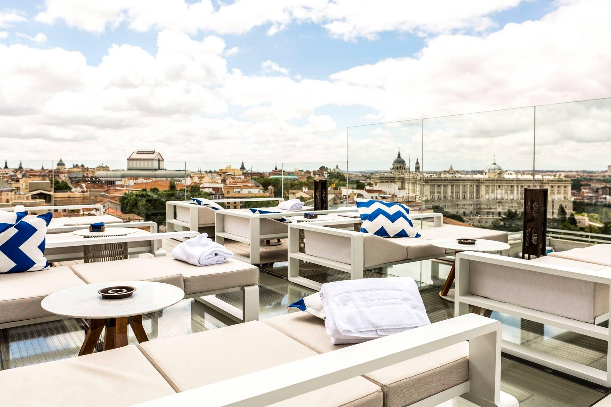 Las mejores terrazas de Madrid: Madrid Ginkgo Sky Bar