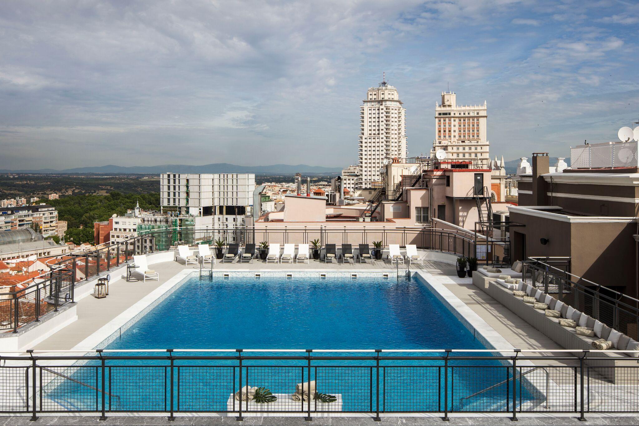 Las mejores terrazas de Madrid: Hotel Emperador