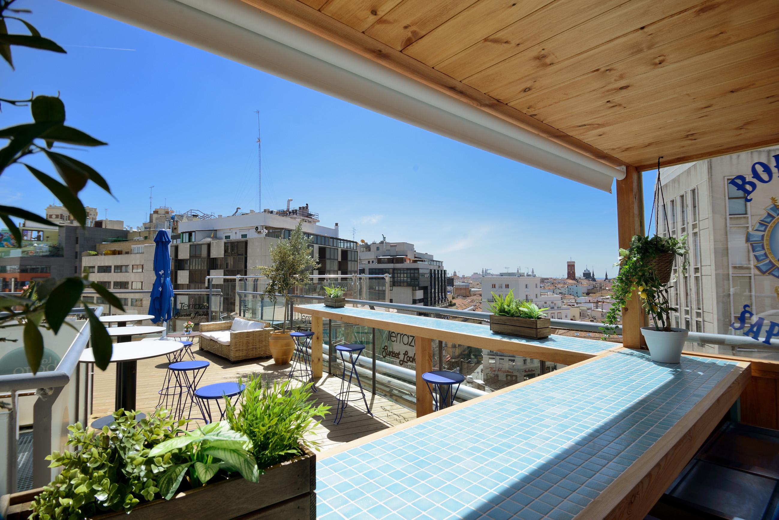 Las mejores terrazas de Madrid: Sunset Lookers