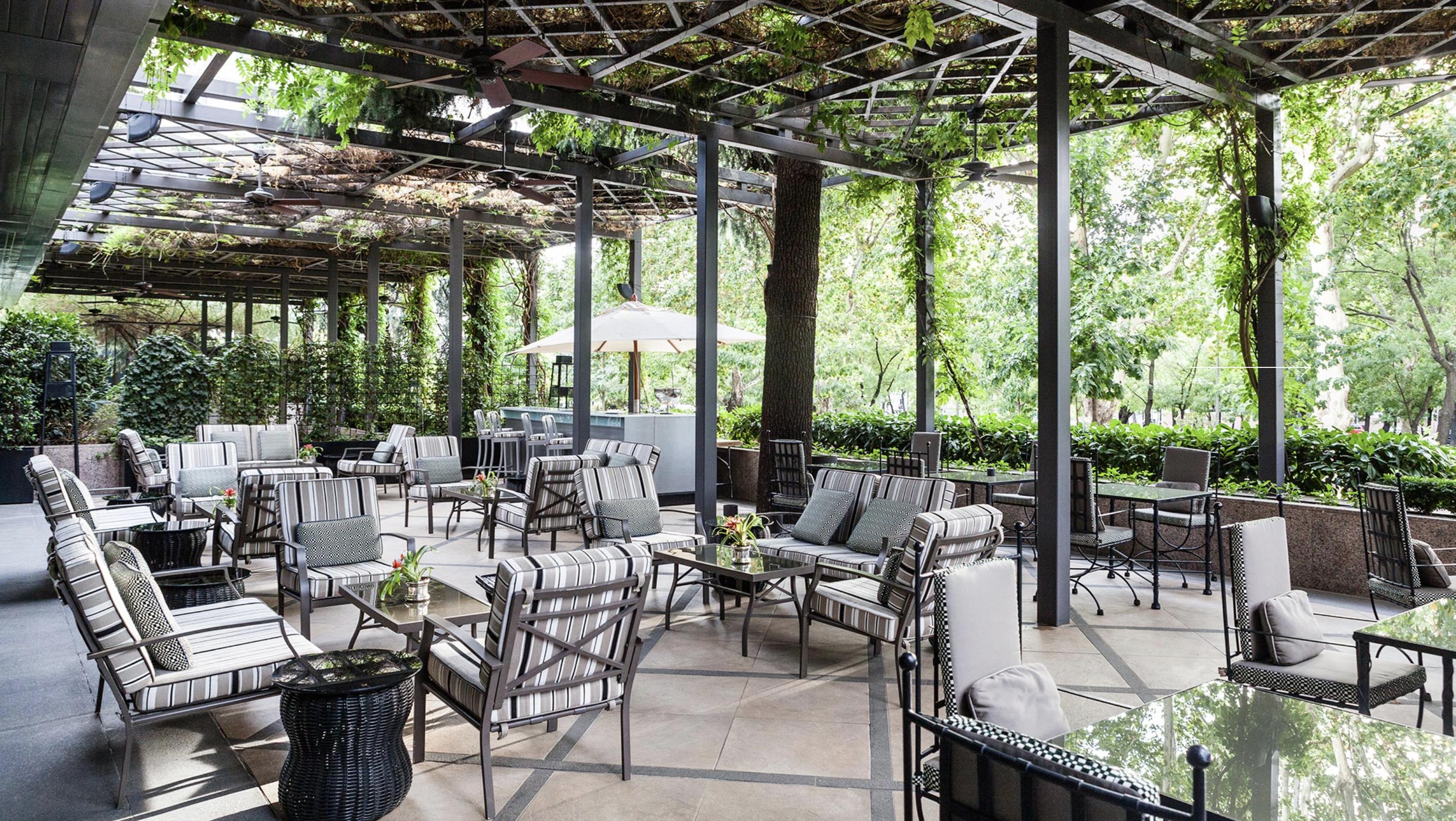 Las mejores terrazas de Madrid: Hotel Villamagna