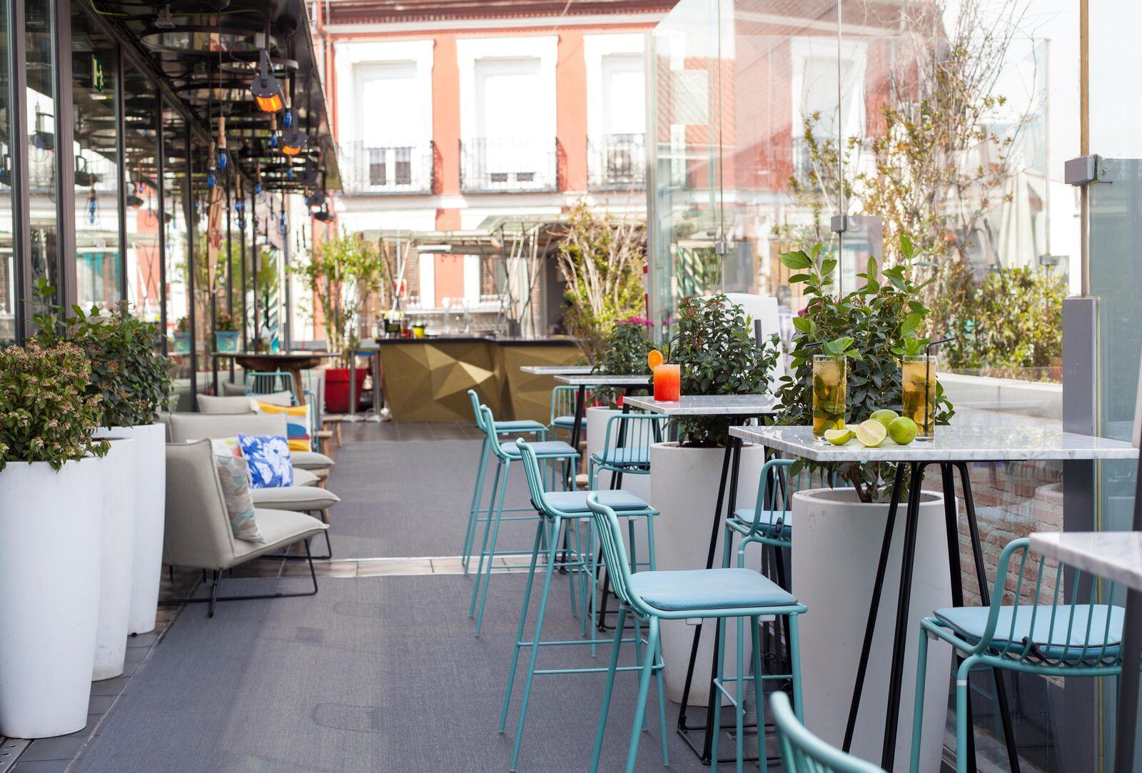 Las mejores terrazas de Madrid: El cielo de San Antón