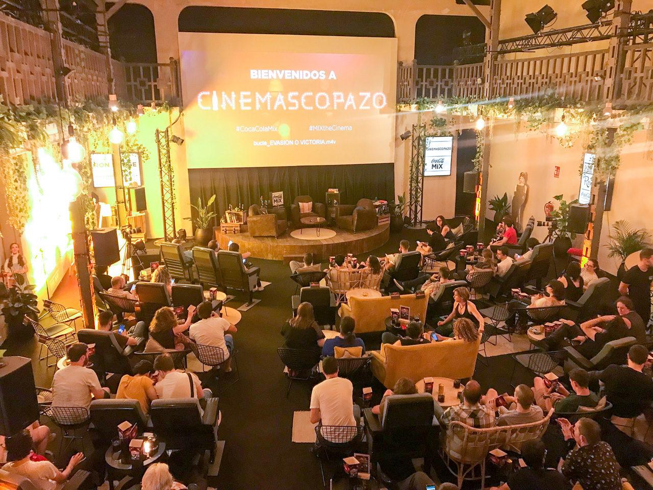 Cinemascopazo, llega el maridaje de Coca-Cola con el mejor cine