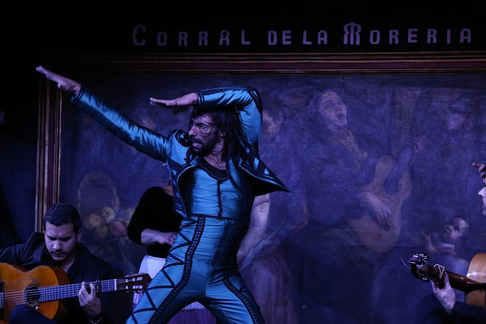El Corral de la Morería acoge el nuevo espectáculo de Eduardo Guerrero