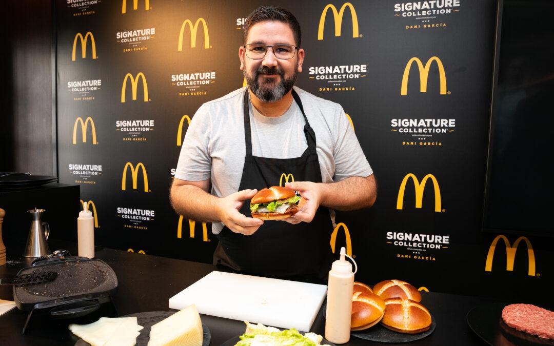 McDonald's y Dani García se unen para democratizar la alta cocina