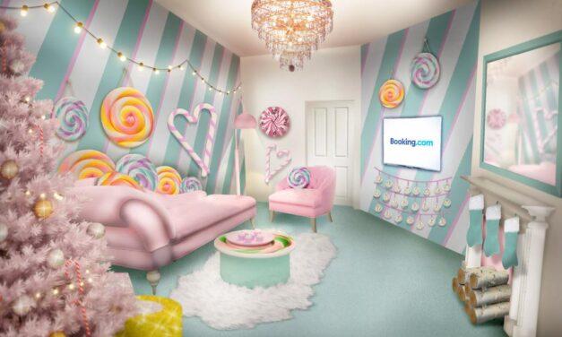 Booking.com estrena el alojamiento más dulce por tiempo limitado