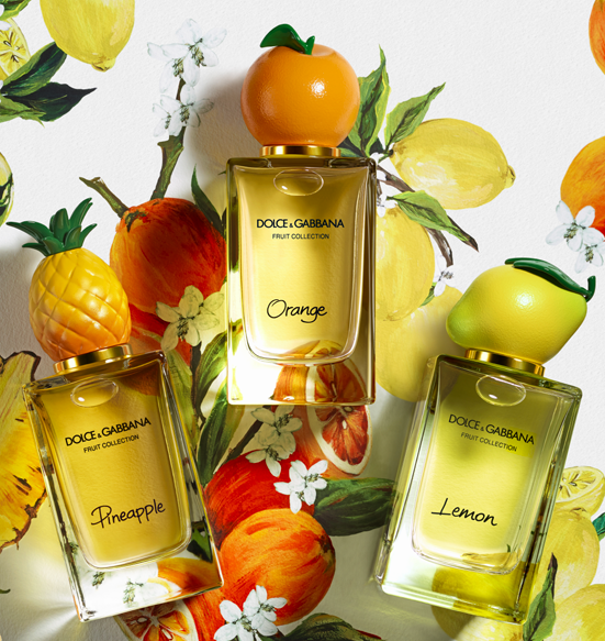 Fruit Collection, las fragancias para el verano de Dolce&Gabanna