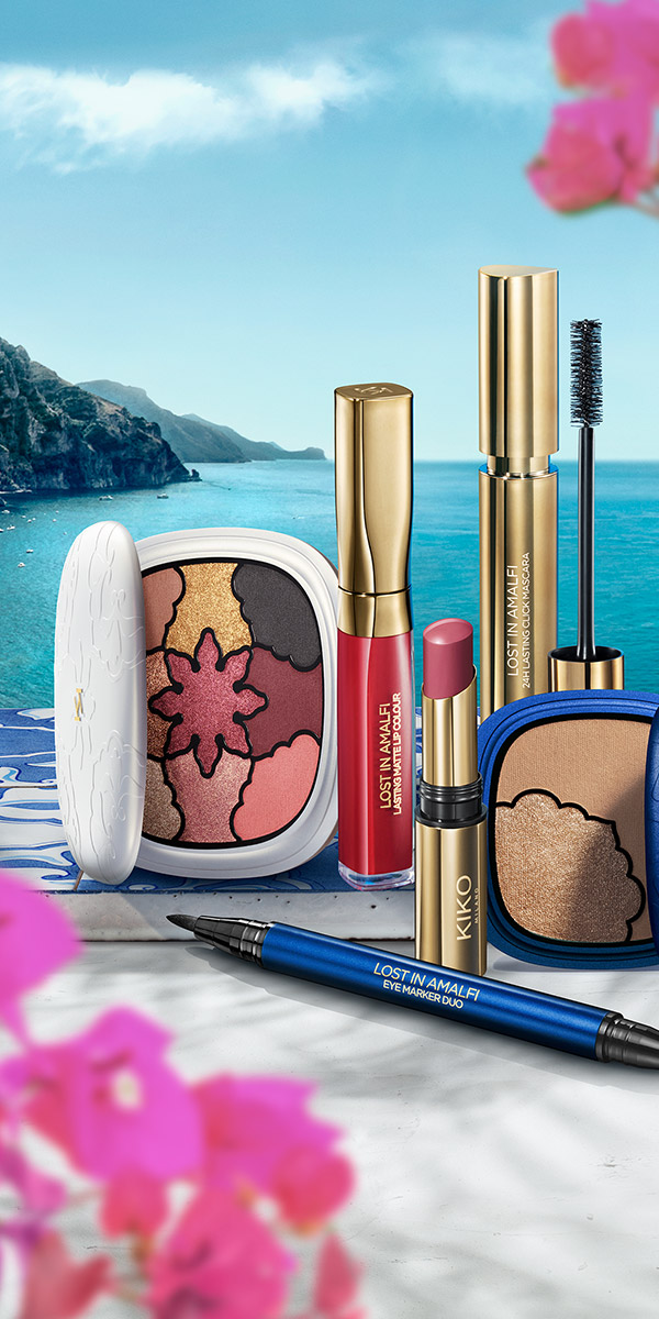 Así es Lost in Amalfi, la nueva línea de maquillaje de Kiko Milano inspirada en Italia