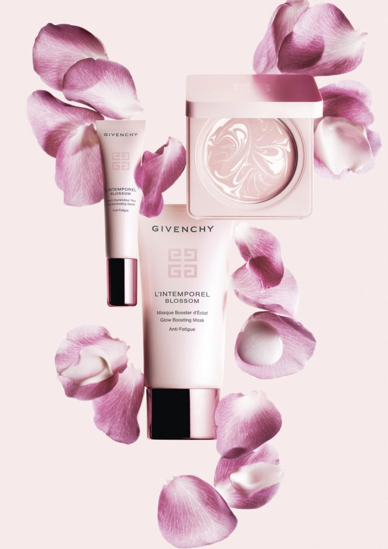 Adiós a la piel cansada con las novedades de la línea L'Intemporel Blossom de Givenchy