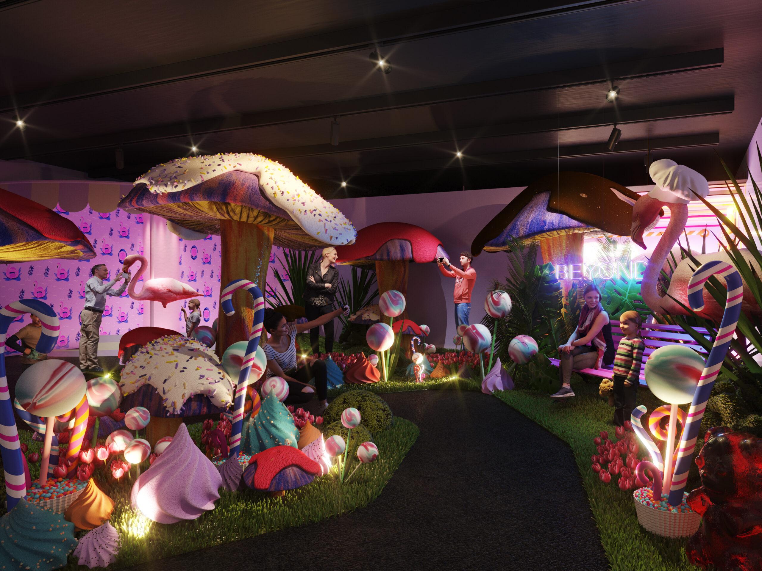 Sweet Space: abre en Madrid el museo interactivo del dulce