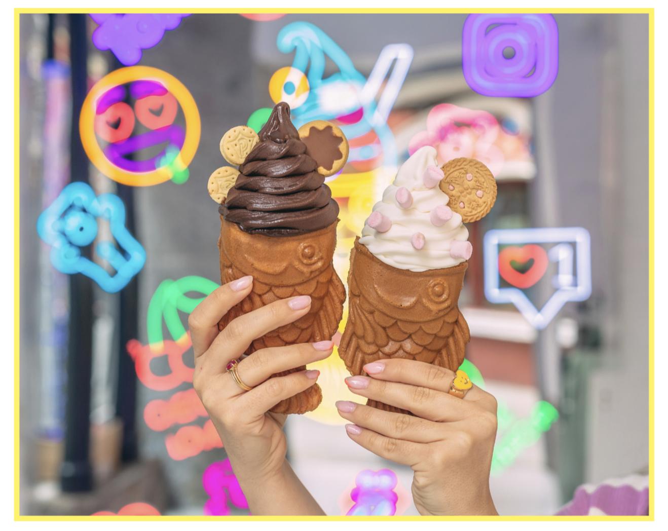 La Pecera, los taiyakis helados que conquistan Madrid