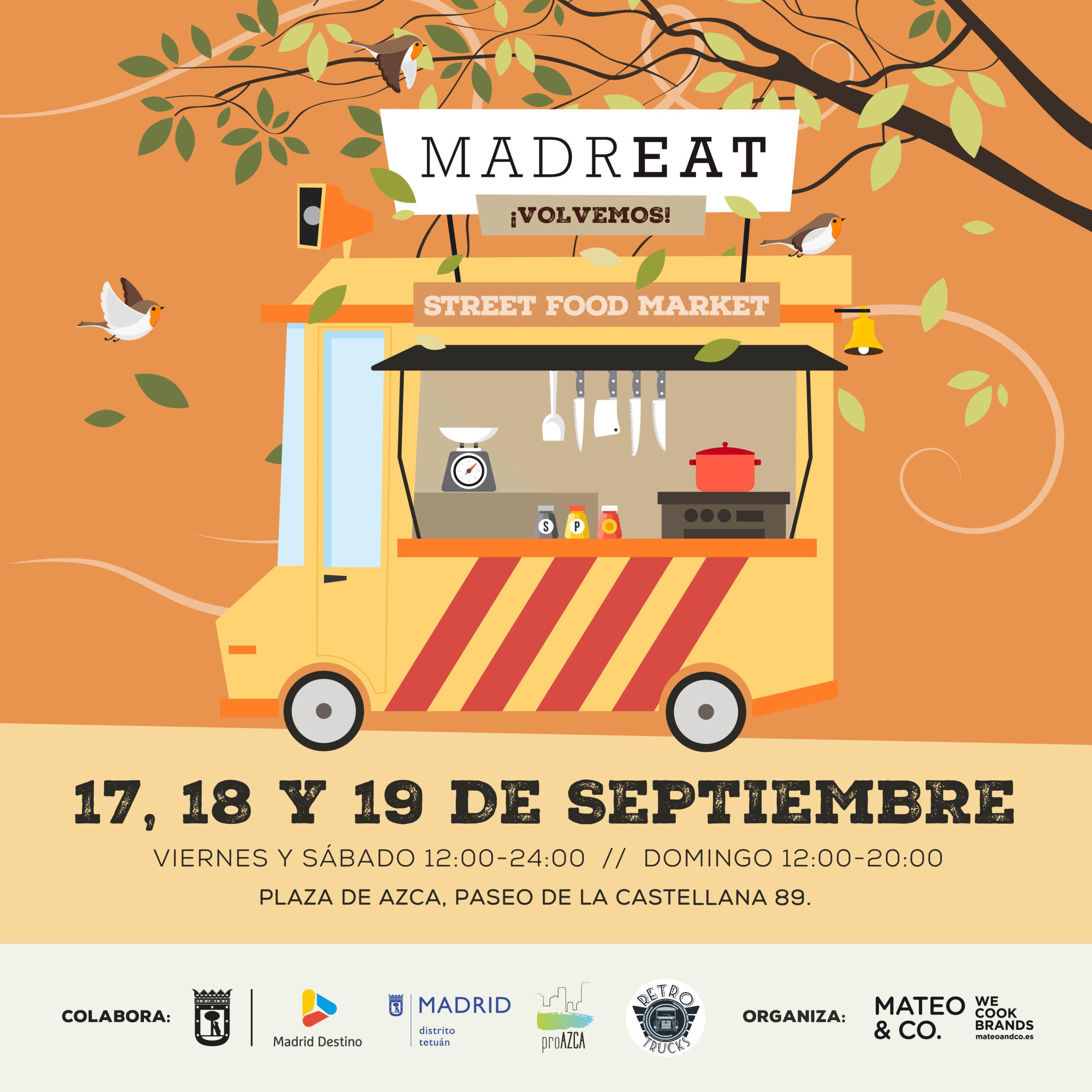 Este fin de semana (17-19 de septiembre) vuelve MadrEAT